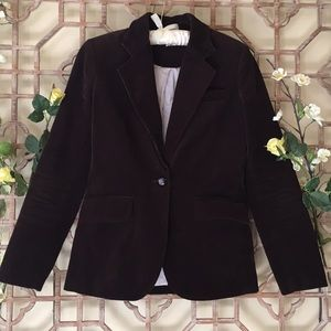 J Crew brown corduroy blazer